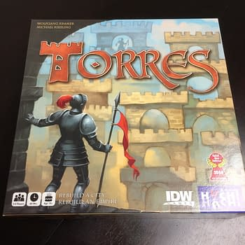 Break Out The Measuring Stick: We Review Torres by IDW Games