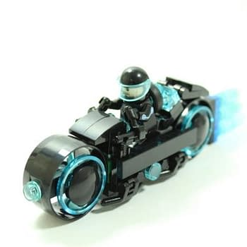 LEGO Ideas Announces That The Tron Legacy Light Cycle Is Approved