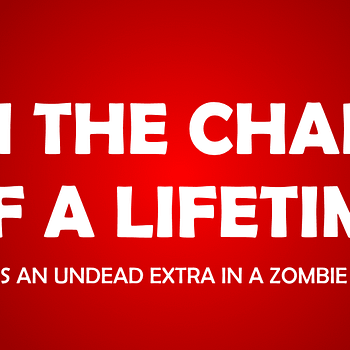 CONTEST: Ever Wanted To Be In A Zombie Movie Little Monsters Could Hook You Up