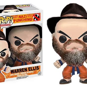 Funko: Please Make A Nazi-Punching Warren Ellis Pop Vinyl