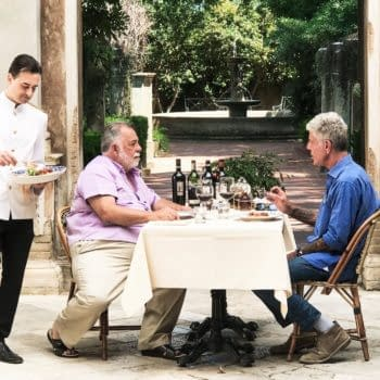 Anthony Bourdain Sits Down To Dinner With Francis Ford Coppola