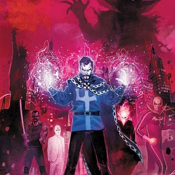 What Happens In Vegas&#8230 Will Be In Doctor Strange: Damnation By Nick Spencer Donny Cates And Rod Reis