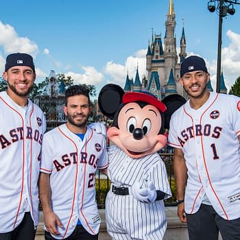 The Houston Astros Celebrate Their Win In Disney World