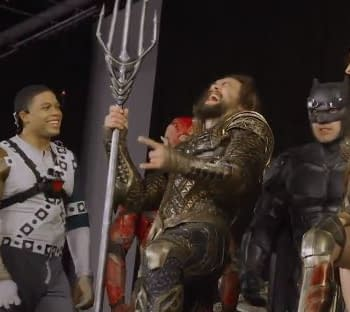 Justice League: Cast Talks Coming Together In New Clip