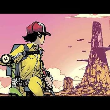 A Trailer and a Preview for the Return of Mech Cadet Yu from Pak and Miyazawa in January