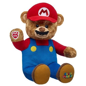 Its-a Me Build-A-Bear Super Mario