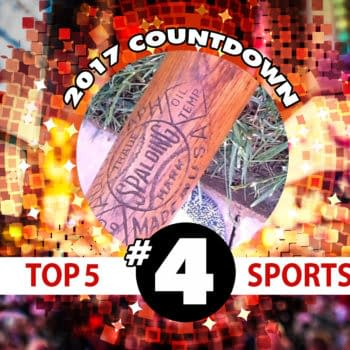 2017 Sports Countdown #4: Finding a Special Baseball Bat at the Thrift Store