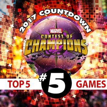 2017 Games Countdown #5: The Marvel Contest of Champions Community Reacts to the New Update