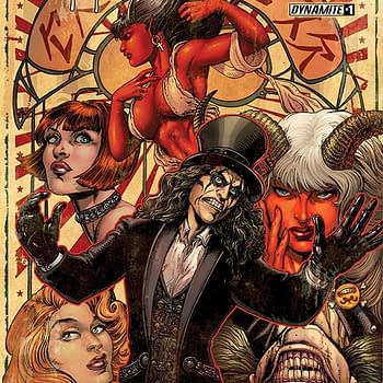 Read Alice Cooper Vs. Chaos #1 Part of the Dynamite/Comixology 50% off Sale