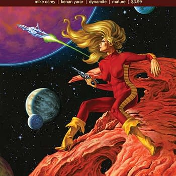 Writers Commentary: Mike Carey on the Important Messages in Barbarella #1