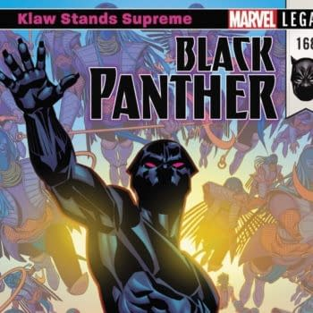 Black Panther #168 cover by Brian Stelfreeze