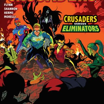 The Mighty Crusaders Versus the Eliminators Continues- Dark Circle March 2018 Solicits