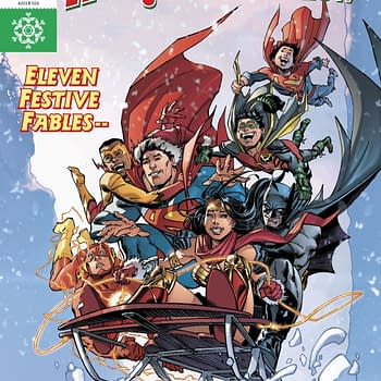 DC Holiday Special 2017 Review: A Sweet Colourful Christmas Annual with a Few Dark Spots