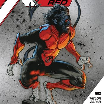 Marvel Shocker: Nightcrawler Grows a Beard in Travis Charest Cover to X-Men: Red #2 Plus: Gambit
