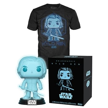 Kylo Ren Gets a Special Holographic Funko Pop at Target