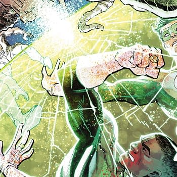 Hal Jordan and the GL Corps #35 Review: Four Legs on a Table
