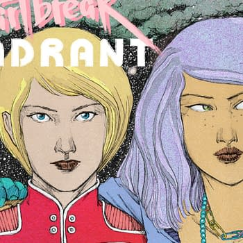 Indie Comic Spotlight Review: Heartbreak Quadrant Phase 1- Gorgeous Exciting Compelling