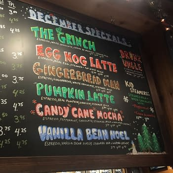 Nerd Food: The Grinch Latte Will Make Your Heart Grow Three Times Larger