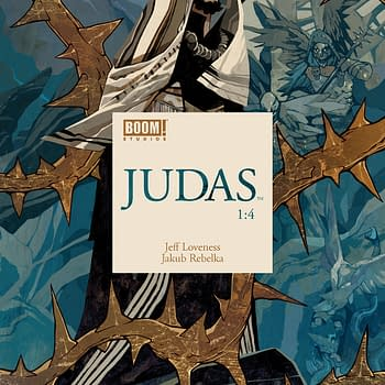 Judas #1 Review: A Gorgeous New Book that is Mysterious and Intriguing
