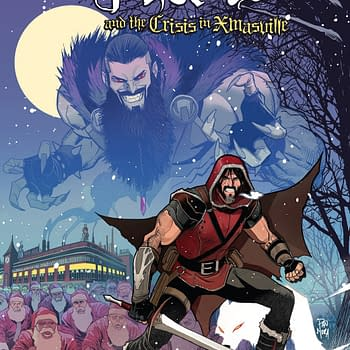 Klaus and the Crisis in Xmasville #1 Review: A Delightfully Sweet Christmas Tale&#8230 with Aliens
