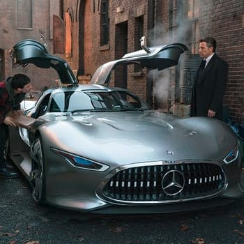 Bruce Waynes Car in Justice League Was a One-of-a-Kind Mercedes-Benz