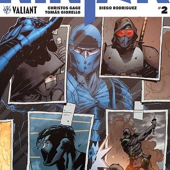 Ninja-K #2 Review: Look Out for British Ninjas