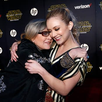 Yes Billie Lourd Has Star Wars: The Rise of Skywalker Scenes with Her Mother Carrie Fisher
