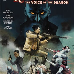 Rasputin: Voice of the Dragon #3 cover by Mike Huddleston