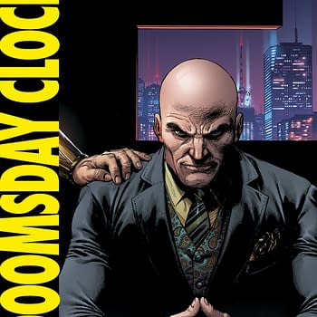 Geoff Johns Announces Doomsday Clock Skip Month as Rorschach Investigates the Batcave