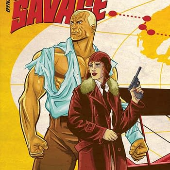 Read Doc Savage: Ring of Fire #1 Part of the Dynamite/Comixology 50% off Sale