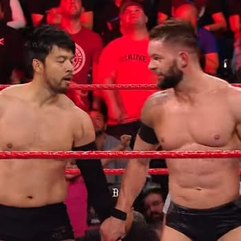 Tag Team Duo Finn Balor and Hideo Itami Destroy the Competition on Raw