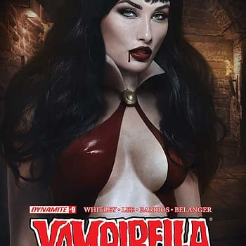 Exclusive Extended Previews of Bettie Page #6 Vampirella #9 and Pathfinder Worldscape