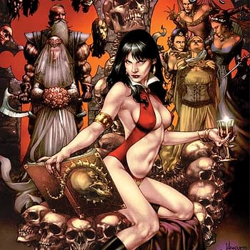 Read Vampirella Feary Tales #1 Part of the Dynamite/Comixology 50% off Sale