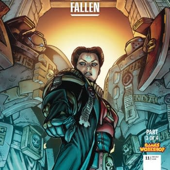Warhammer 40k: The Fallen #3 cover by Tazio Bettin and Enrica Erin Angiolini