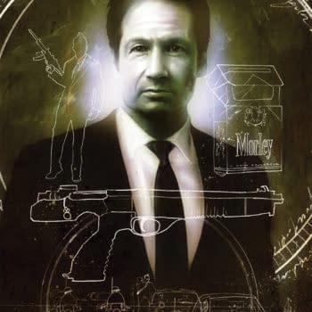X-Files: JFK Disclosure #2 cover by Menton3