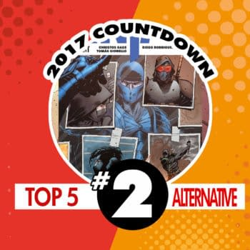 Top Alternative Publisher Comics of 2017 #2: Ninja-K by Christos Gage, Rafael de la Torre, and Tomas Giorella