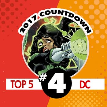 Top DC Comics of 2017 #4: Green Lanterns #28 by Sam Humphries and Eduardo Pansica