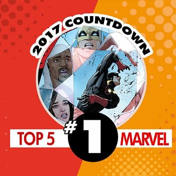 Top Marvel Comics of 2017 #1: Defenders #7 by Brian Michael Bendis and David Marquez