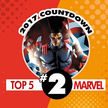Top Marvel Comics of 2017 #2: The Falcon #1 by Rodney Barnes and Joshua Cassara