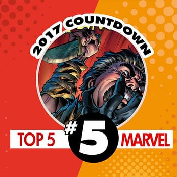 Top Marvel Comics of 2017 #5: Venom #156 by Mike Costa and Mark Bagley
