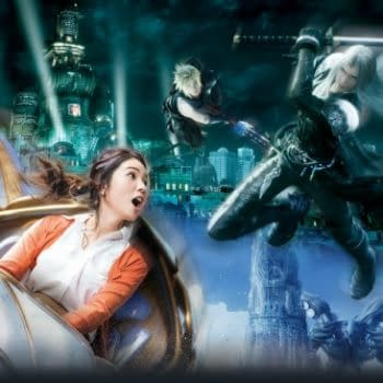 Universal Studios Japan is Getting a Limited-Time Final Fantasy Ride