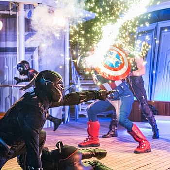Images from Disneys Marvel Day at Seas Stage Shows