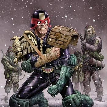 New Judge Dredd 2000 A.D. Arc and Dredd Sequel Story Begin: Rebellion April 2018 Solicits