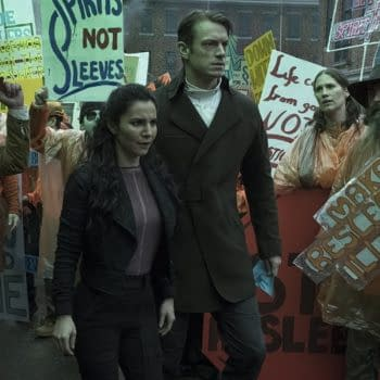 A look at Altered Carbon (Image: Netflix)