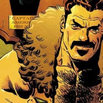 Captain America #697 cover by Chris Samnee and Matthew Wilson