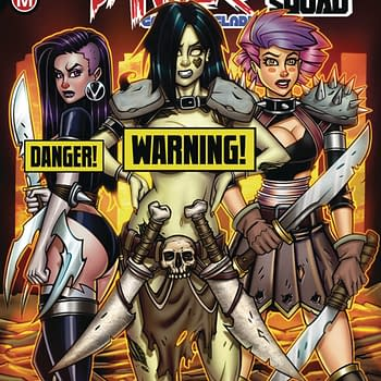 Consultant Vol.1 and Danger Doll Squad Unleashed: Action Labs Danger Zone April 2018 Solicits