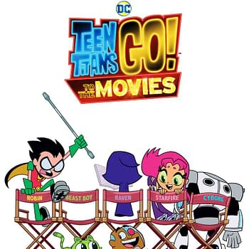 New Poster for Teen Titans Go to the Movies Parodies Justice League