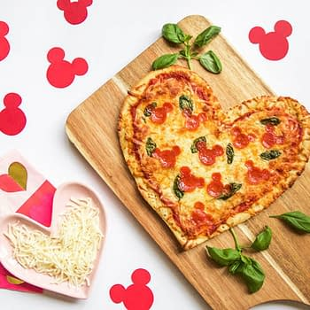 Nerd Food: Does Your Valentine Love Disney Make Them a Mickey Mouse Pizza