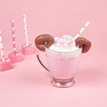minnie mouse hot chocolate