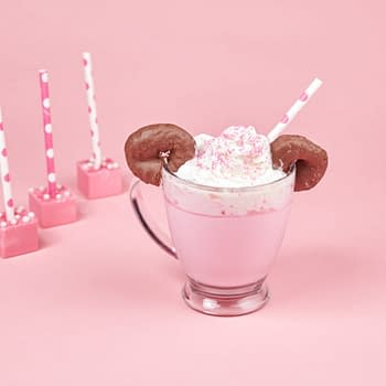 Nerd Food: Need a Warm-Up for #RockTheDots Day Try Some Minnie Mouse Hot Chocolate